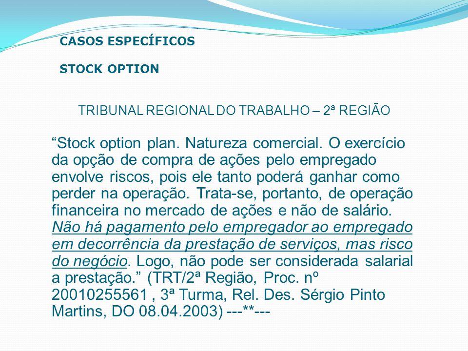 TRIBUNAL REGIONAL DO TRABALHO – 2ª REGIÃO