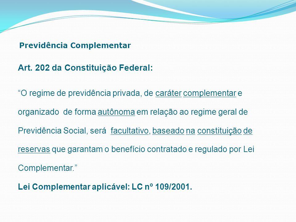Art. 202 da Constituição Federal: