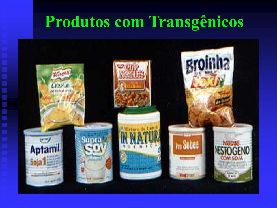 Produtos com Transgênicos