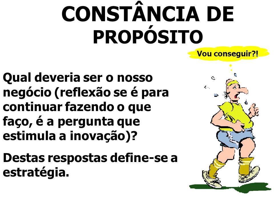 CONSTÂNCIA DE PROPÓSITO