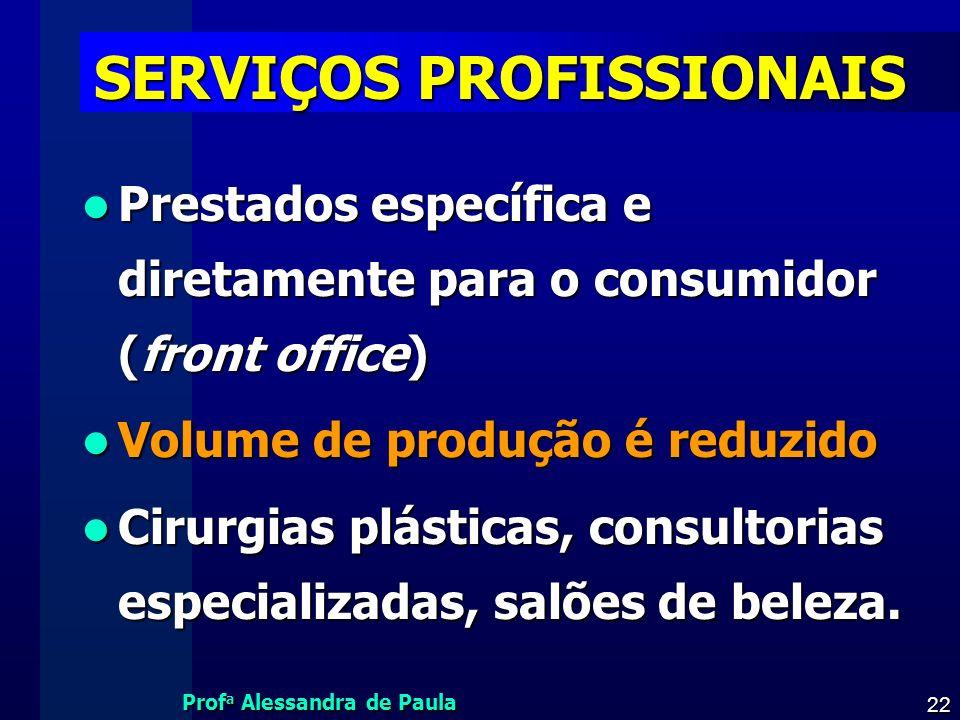SERVIÇOS PROFISSIONAIS