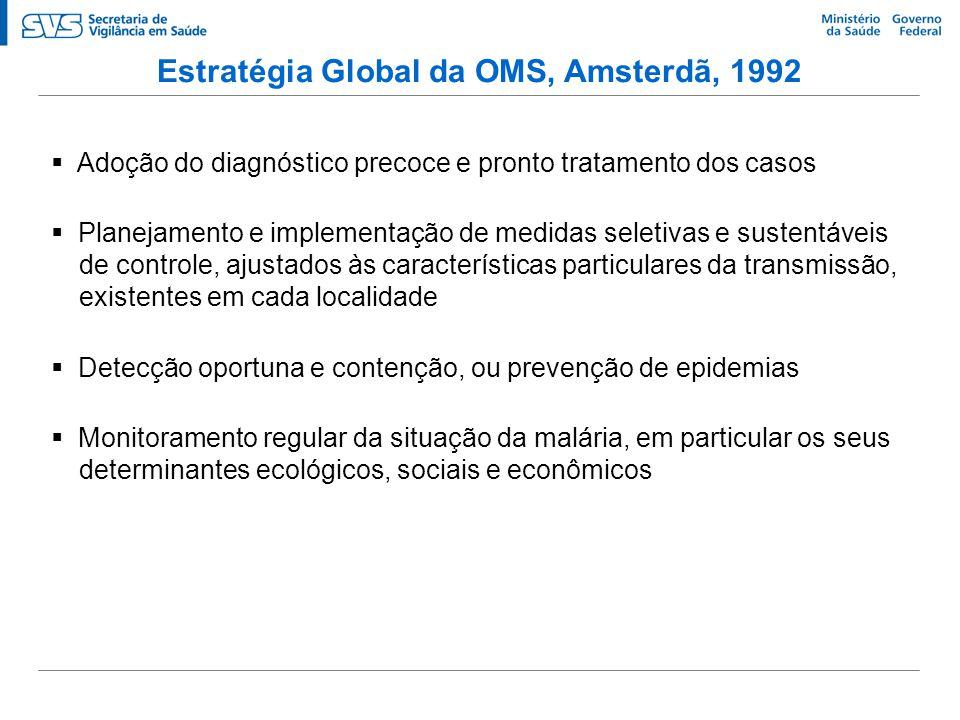 Estratégia Global da OMS, Amsterdã, 1992