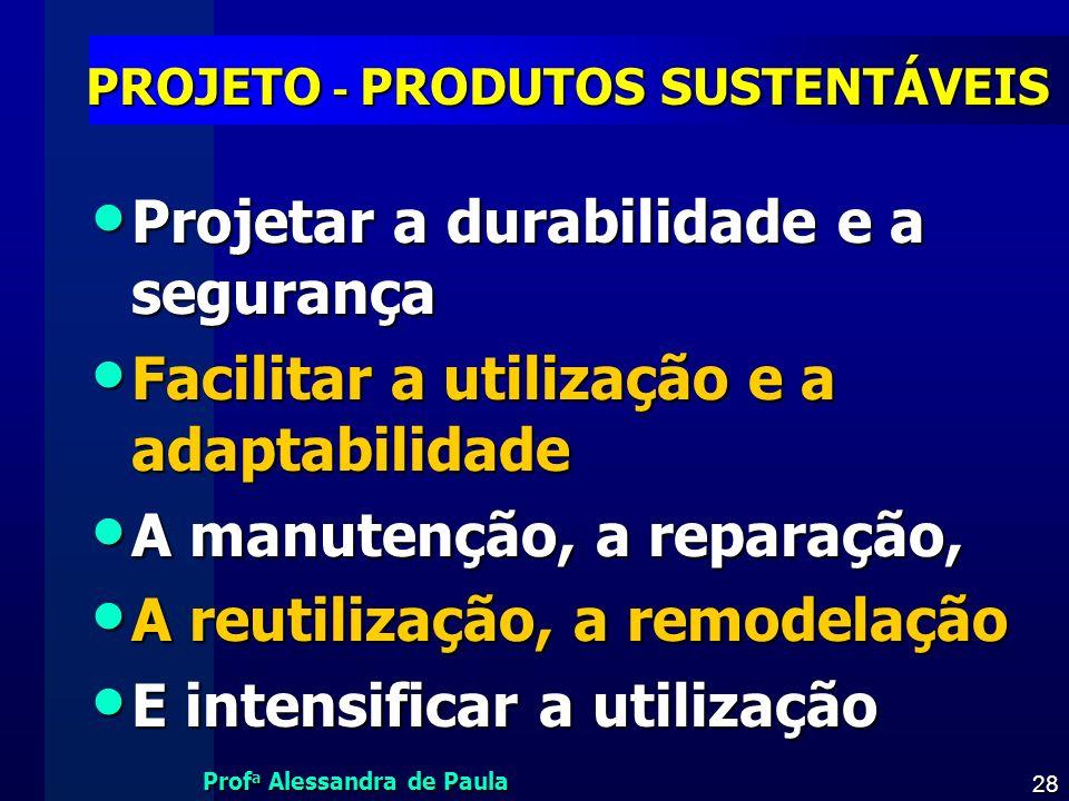PROJETO - PRODUTOS SUSTENTÁVEIS