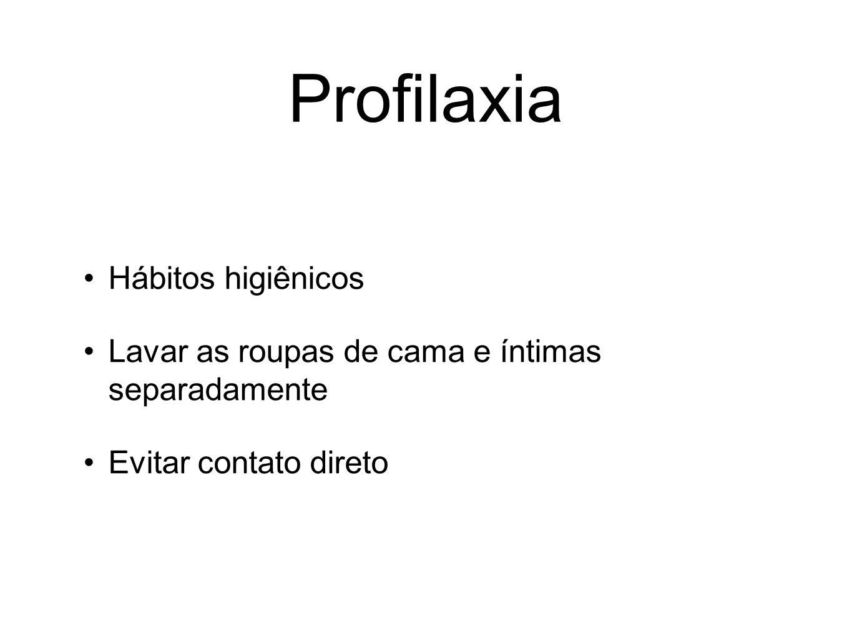 Profilaxia Hábitos higiênicos