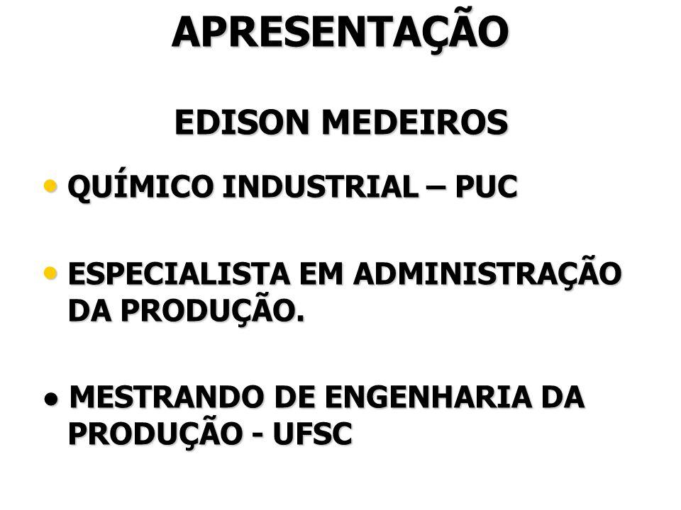 APRESENTAÇÃO EDISON MEDEIROS