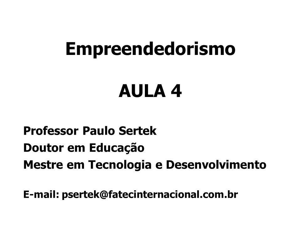 Empreendedorismo AULA 4