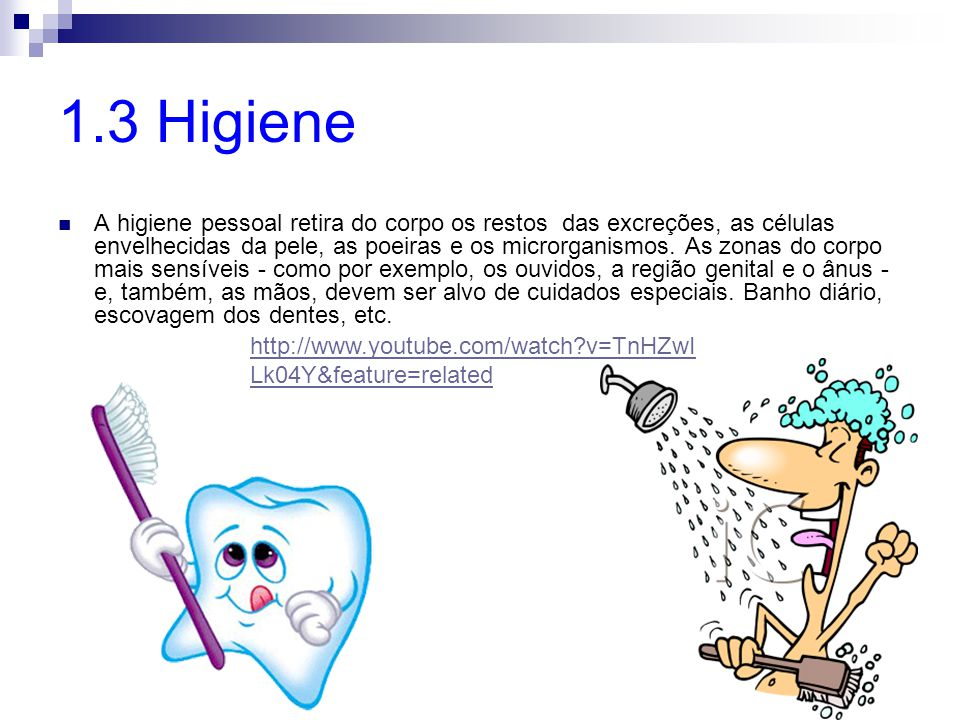 1.3 Higiene