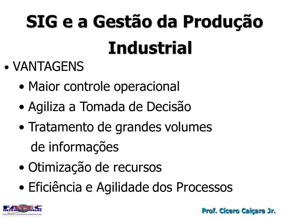 SIG e a Gestão da Produção Industrial