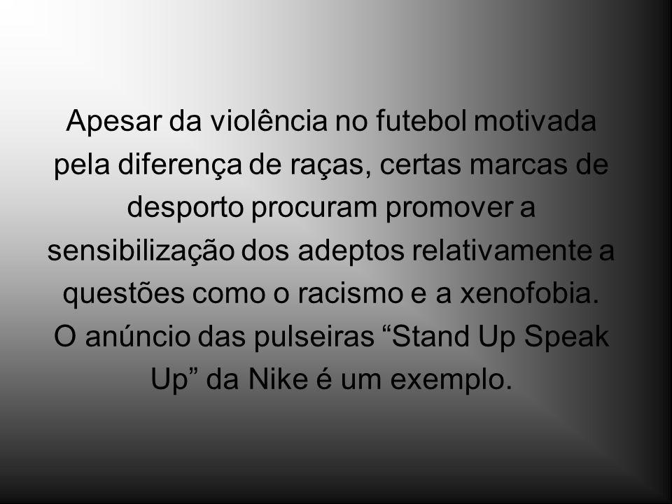 Apesar da violência no futebol motivada