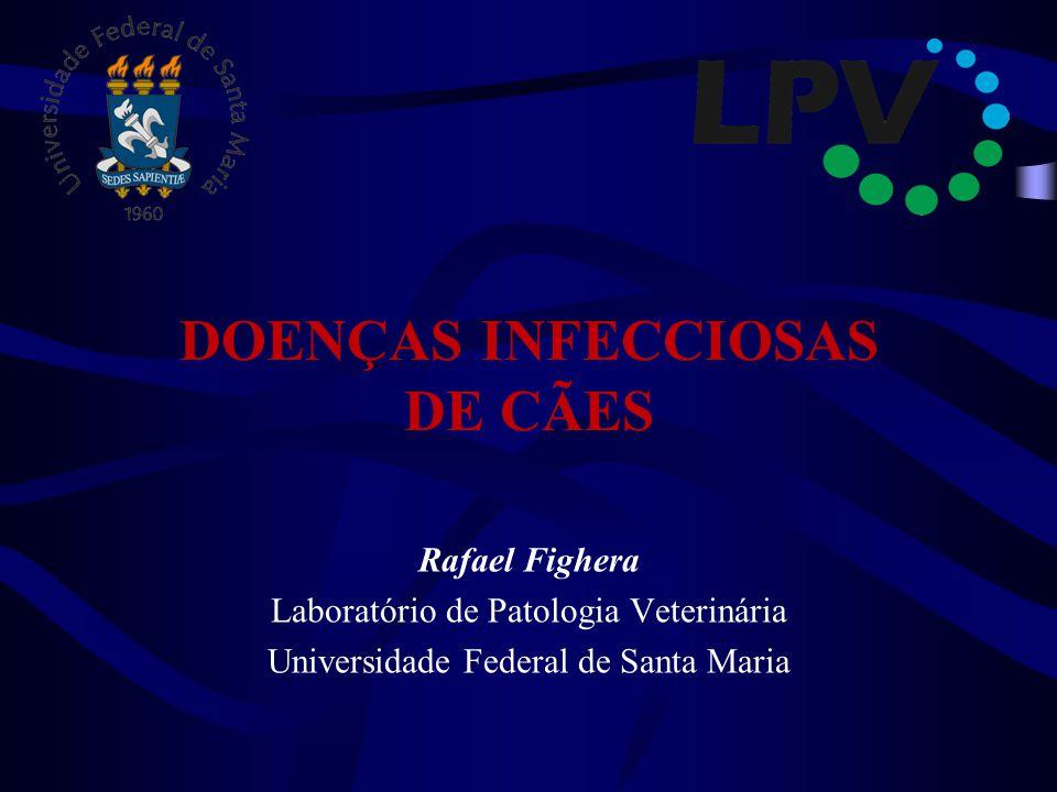 DOENÇAS INFECCIOSAS DE CÃES