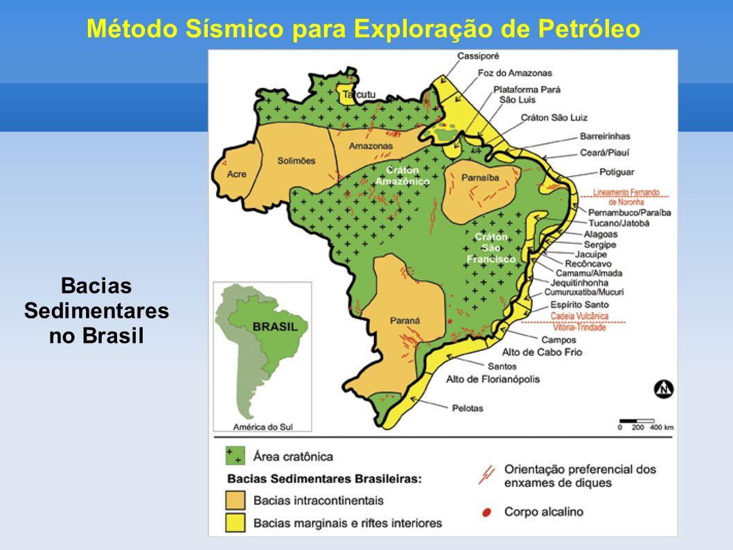 Método Sísmico para Exploração de Petróleo