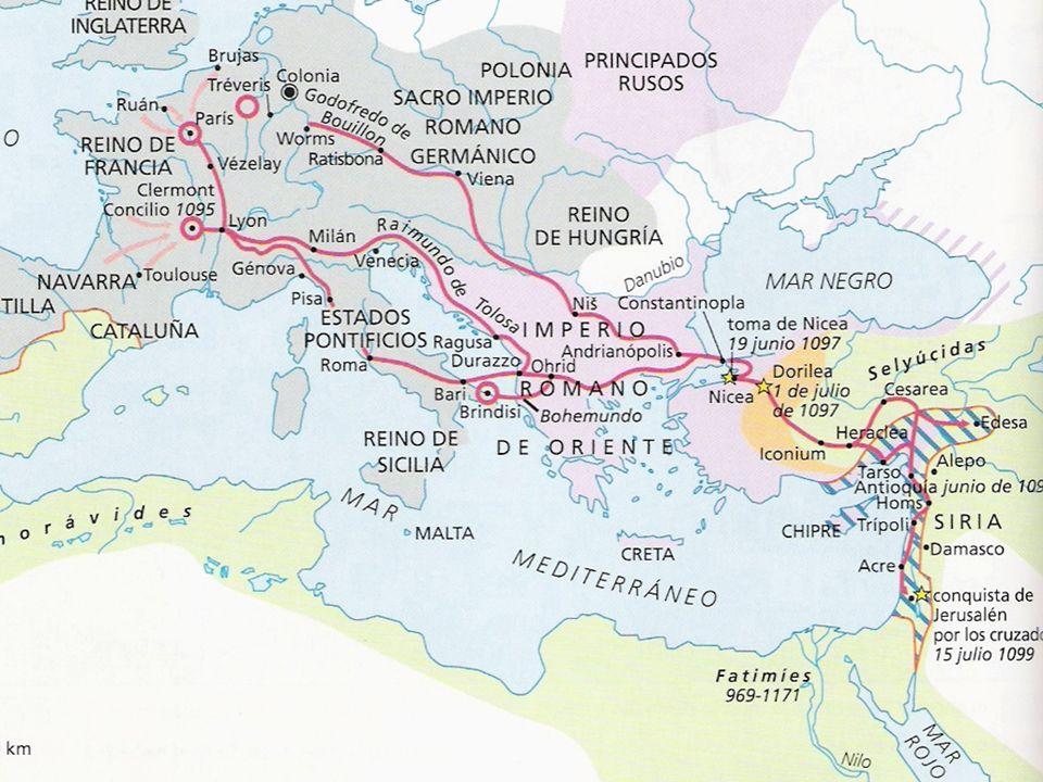 As Cruzadas Definição: expedições militares organizadas para libertar os lugares santos do domínio muçulmano.