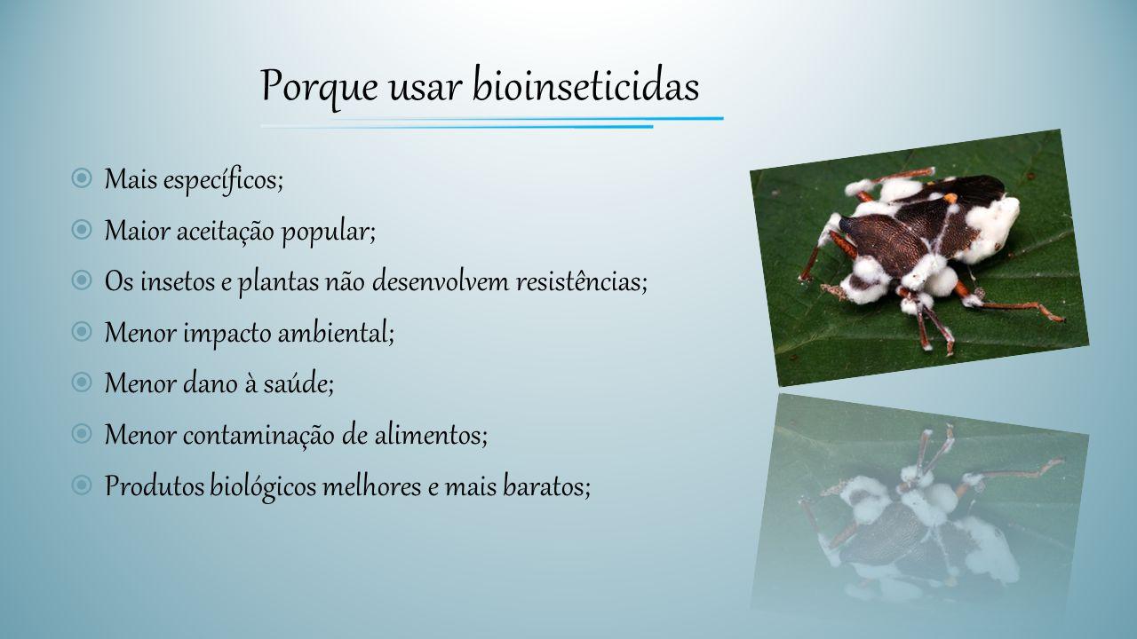 Porque usar bioinseticidas