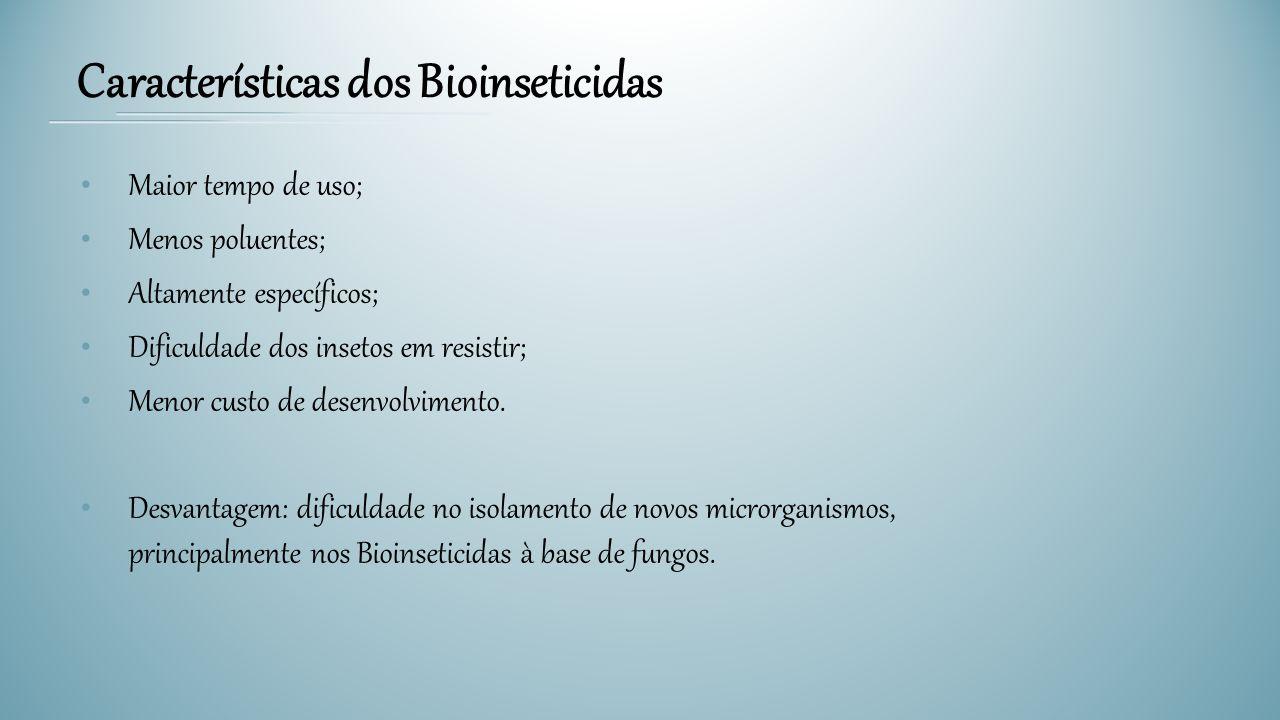 Características dos Bioinseticidas