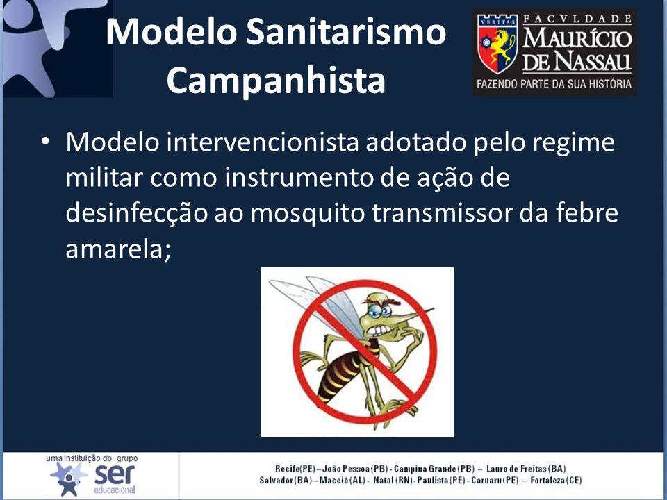 Modelo Sanitarismo Campanhista