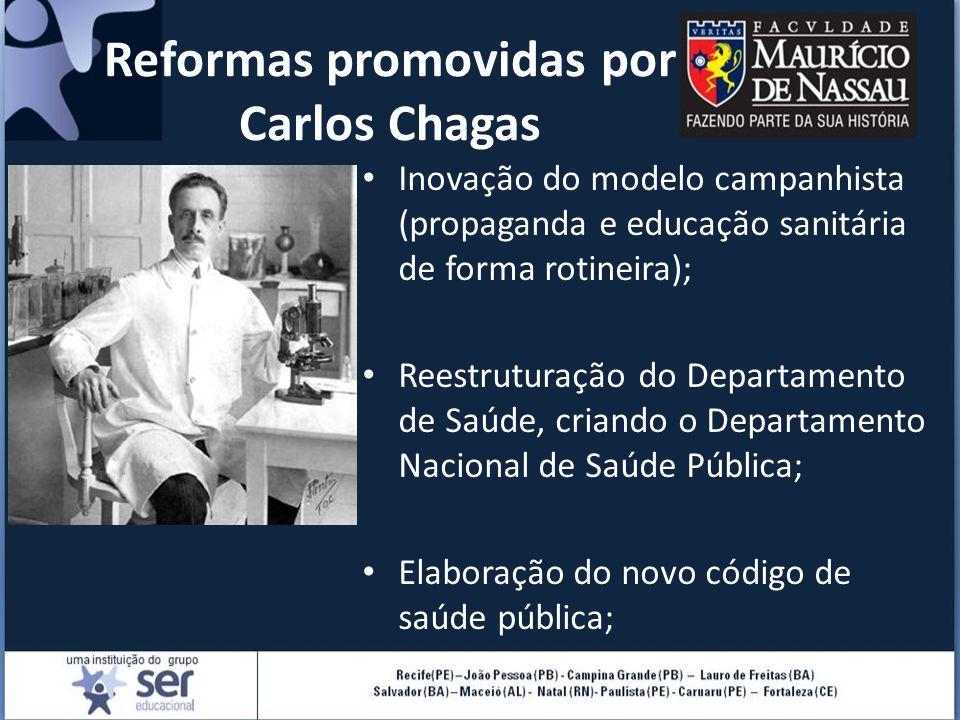 Reformas promovidas por Carlos Chagas