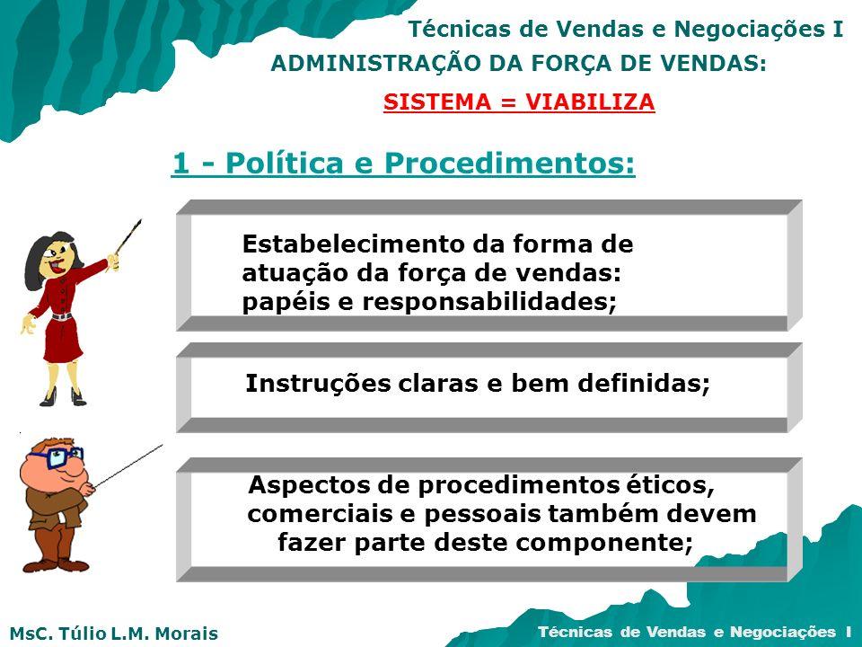 1 - Política e Procedimentos: