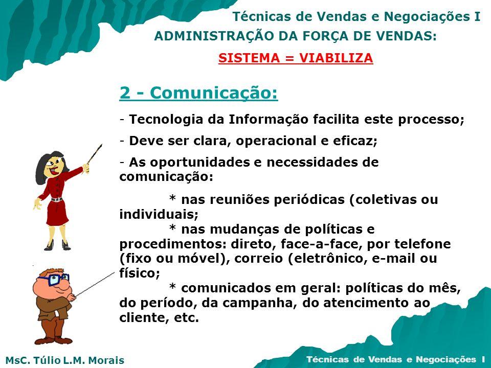 ADMINISTRAÇÃO DA FORÇA DE VENDAS:
