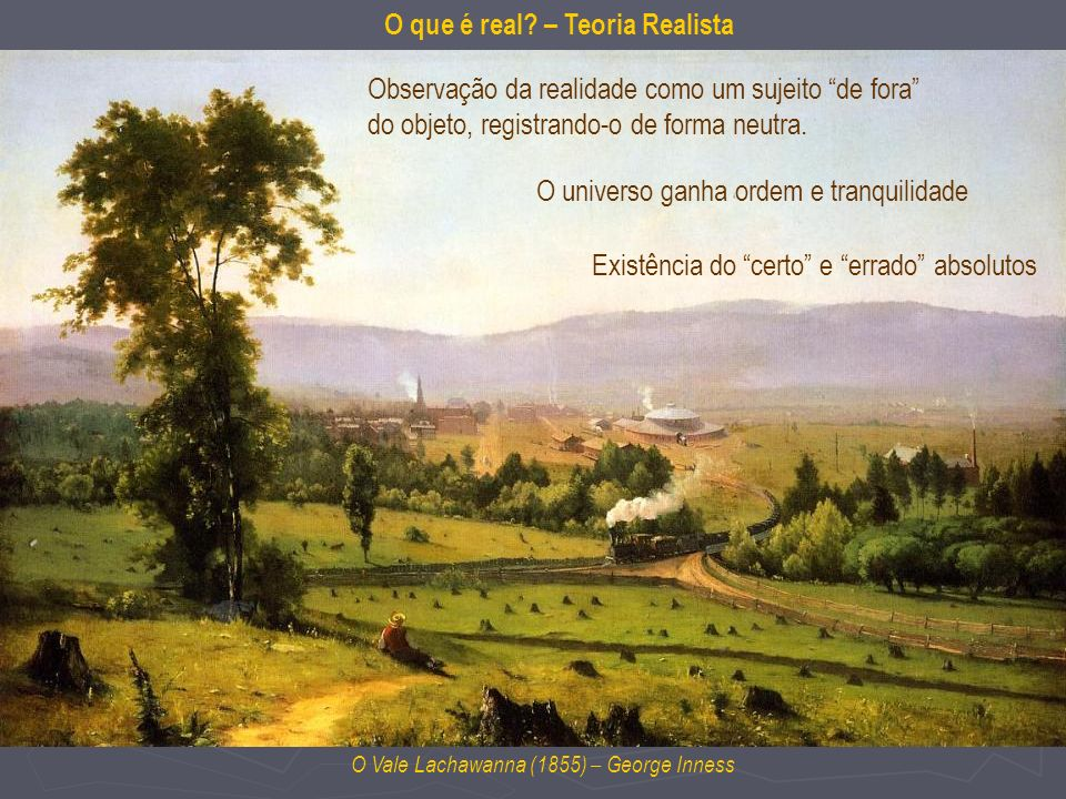 O que é real – Teoria Realista