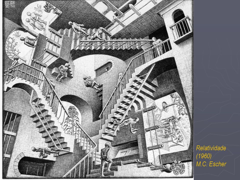 Relatividade (1960) M.C. Escher