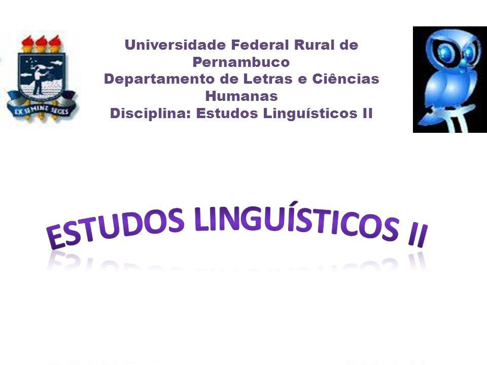Estudos Linguísticos II