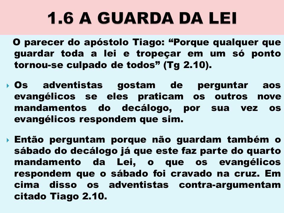 1.6 A GUARDA DA LEI