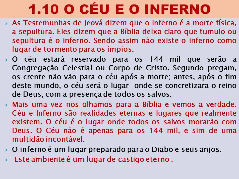 1.10 O CÉU E O INFERNO