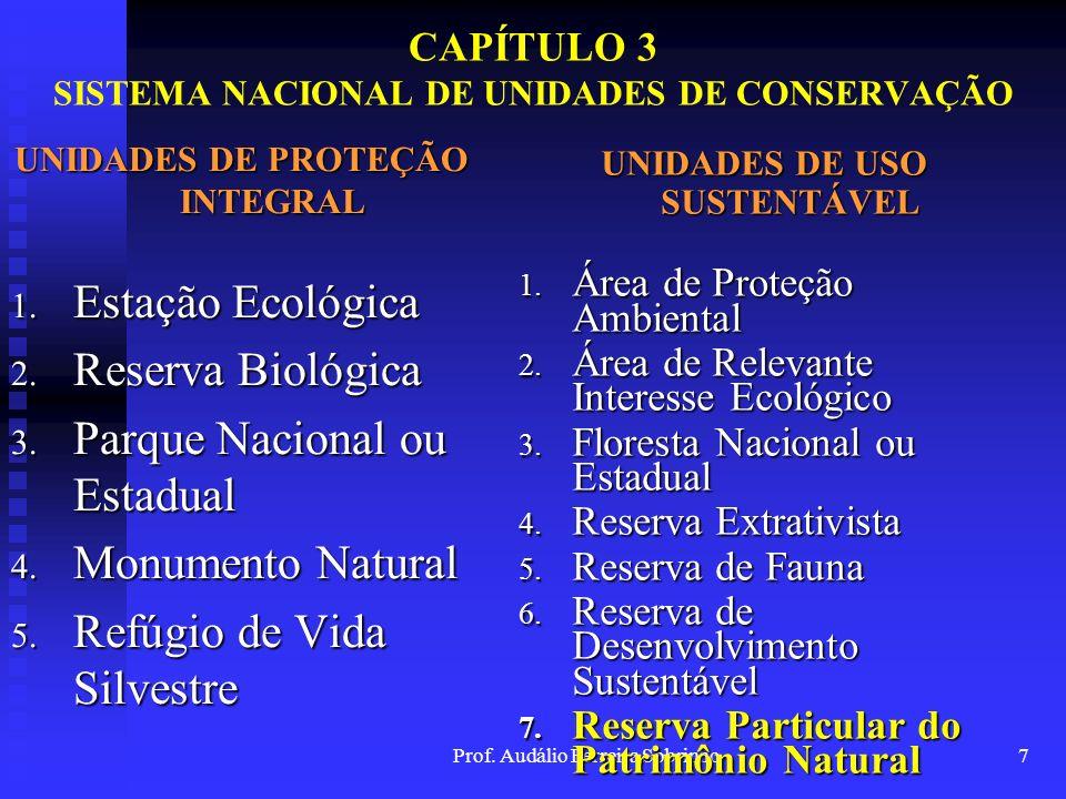 CAPÍTULO 3 SISTEMA NACIONAL DE UNIDADES DE CONSERVAÇÃO
