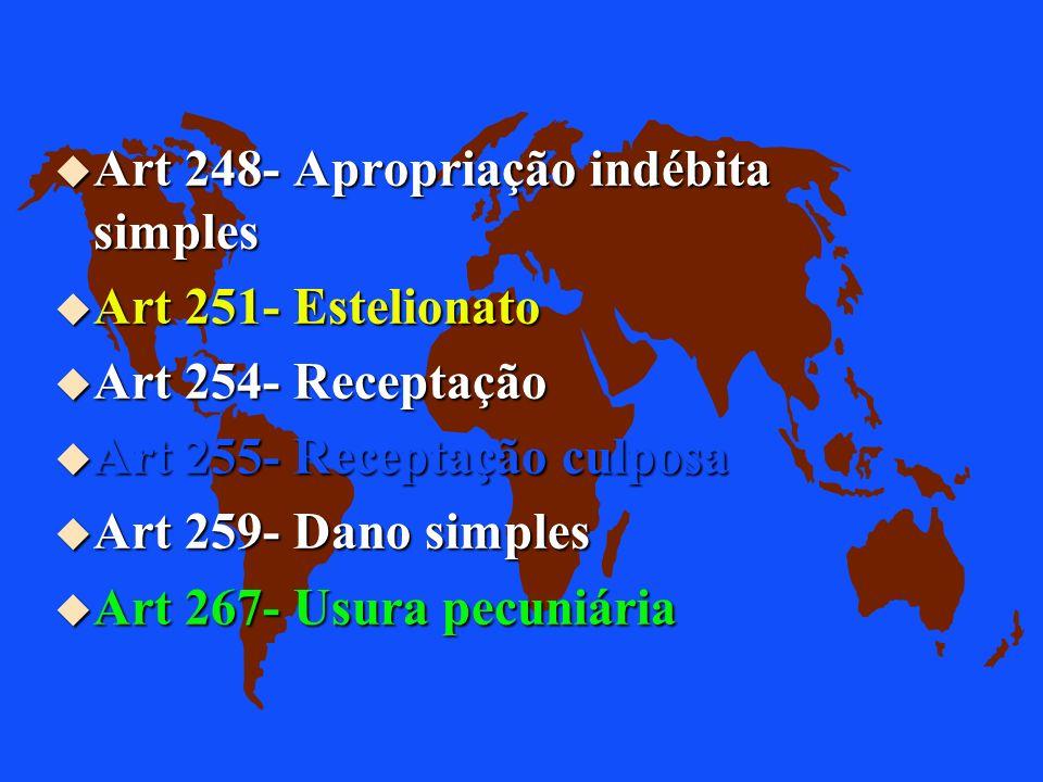 Art 248- Apropriação indébita simples