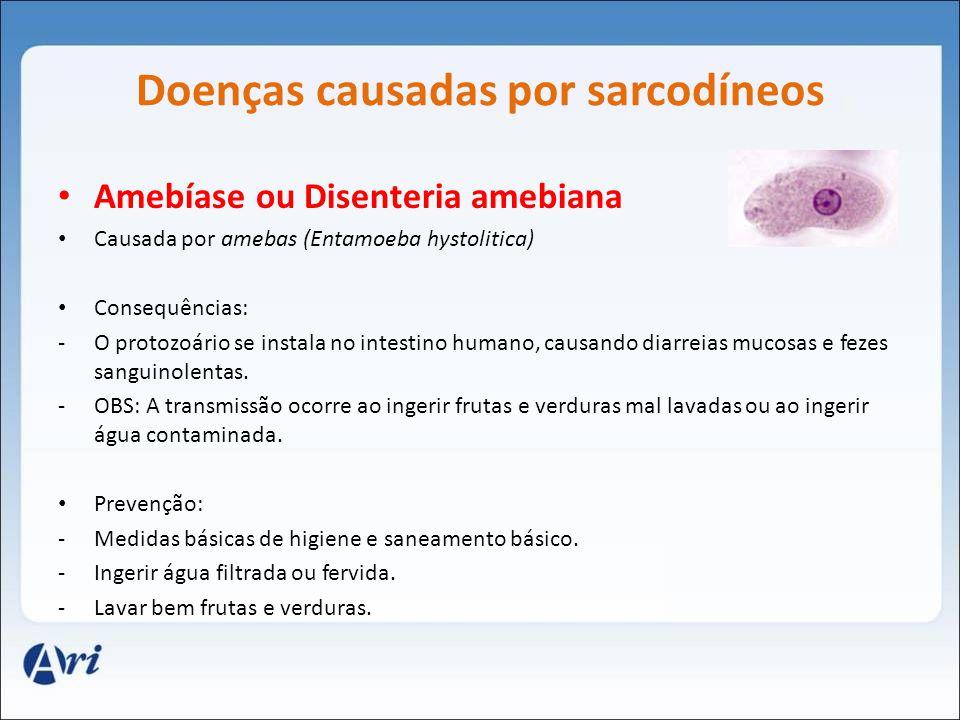 Doenças causadas por sarcodíneos
