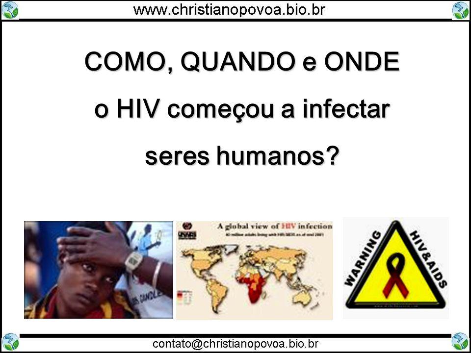 o HIV começou a infectar