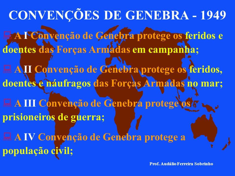 CONVENÇÕES DE GENEBRA - 1949