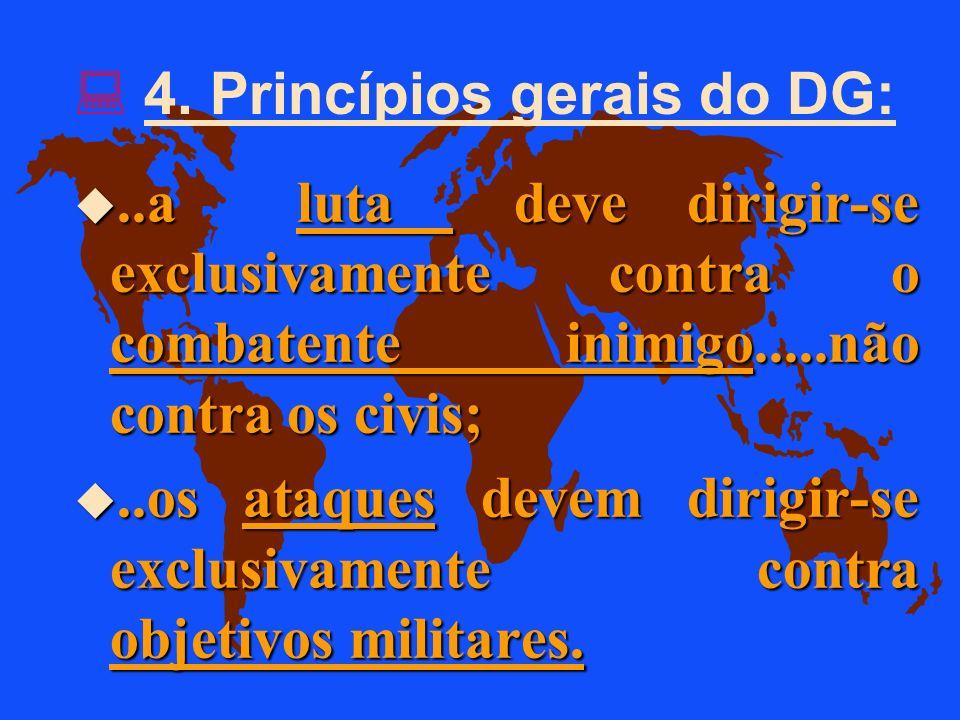 4. Princípios gerais do DG: