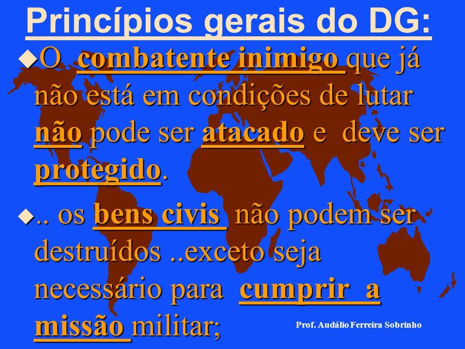 Princípios gerais do DG:
