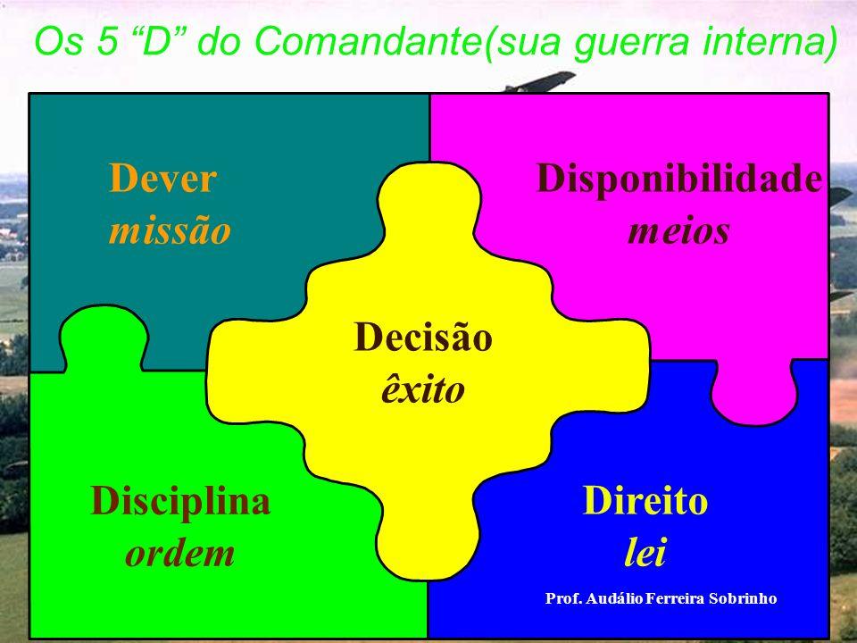 Os 5 D do Comandante(sua guerra interna)