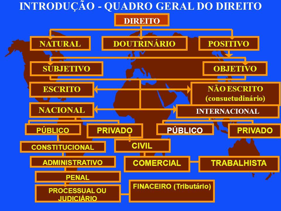 FINACEIRO (Tributário) PROCESSUAL OU JUDICIÁRIO