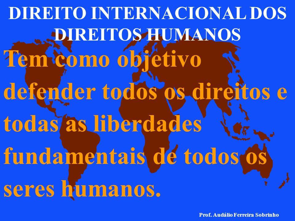 DIREITO INTERNACIONAL DOS DIREITOS HUMANOS
