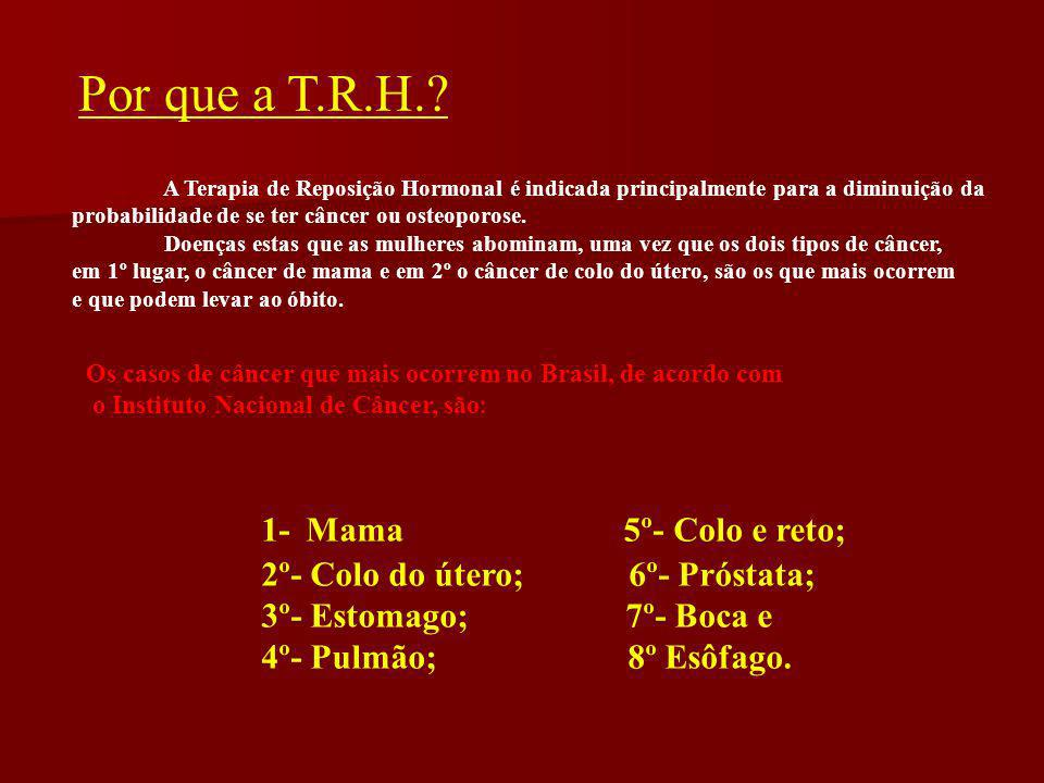 Por que a T.R.H. 1- Mama 5º- Colo e reto;