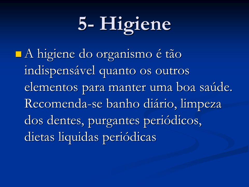 5- Higiene