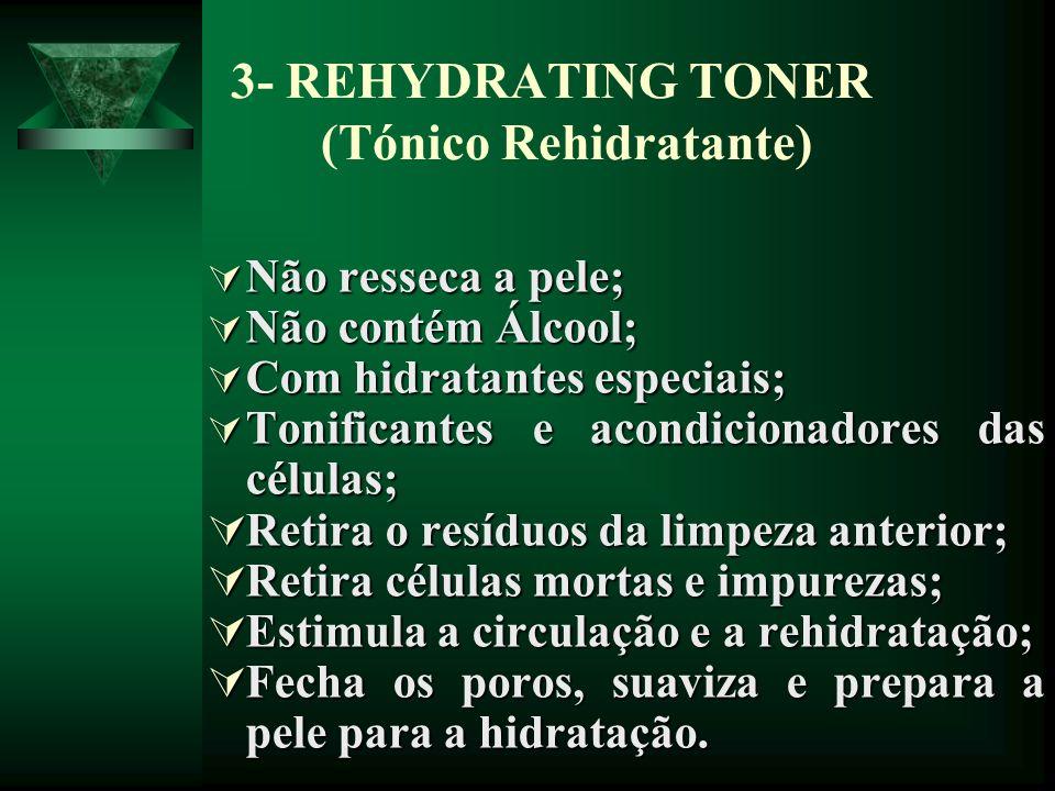 3- REHYDRATING TONER (Tónico Rehidratante)
