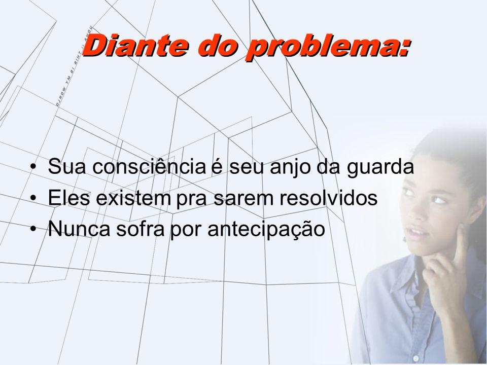 Diante do problema: Sua consciência é seu anjo da guarda