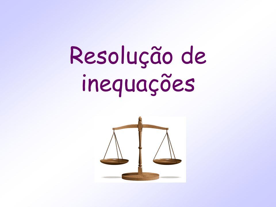 Resolução de inequações