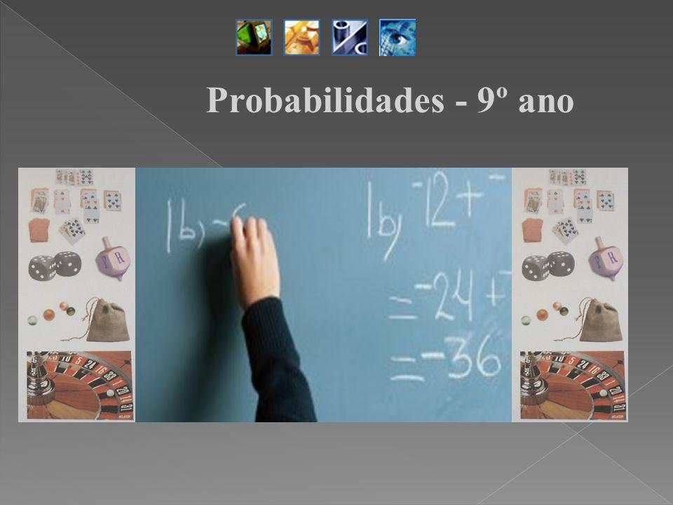 Probabilidades - 9º ano