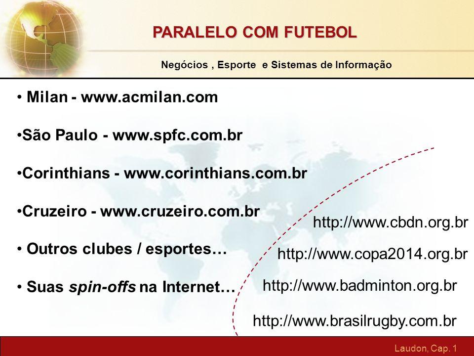 Negócios , Esporte e Sistemas de Informação