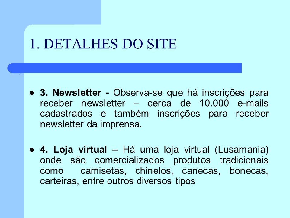 1. DETALHES DO SITE
