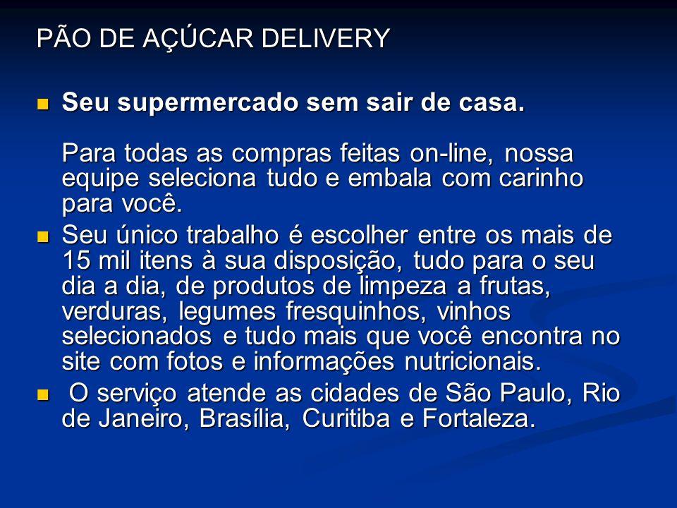 PÃO DE AÇÚCAR DELIVERY