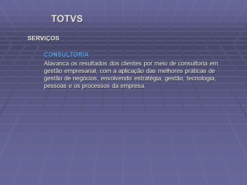 TOTVS SERVIÇOS CONSULTORIA