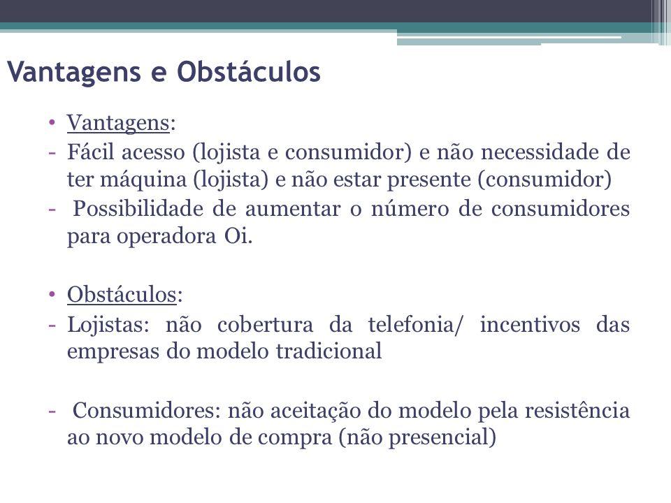 Vantagens e Obstáculos