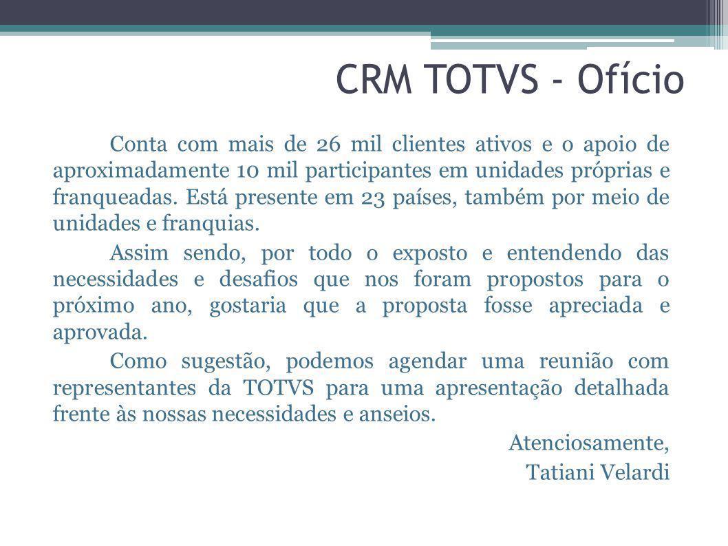 CRM TOTVS - Ofício
