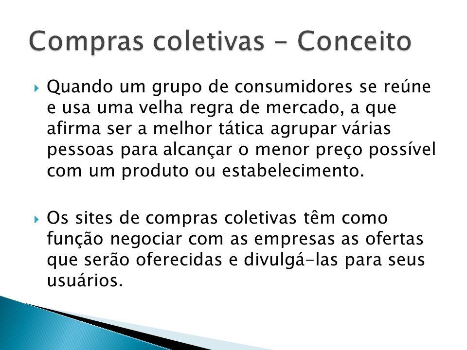 Compras coletivas - Conceito